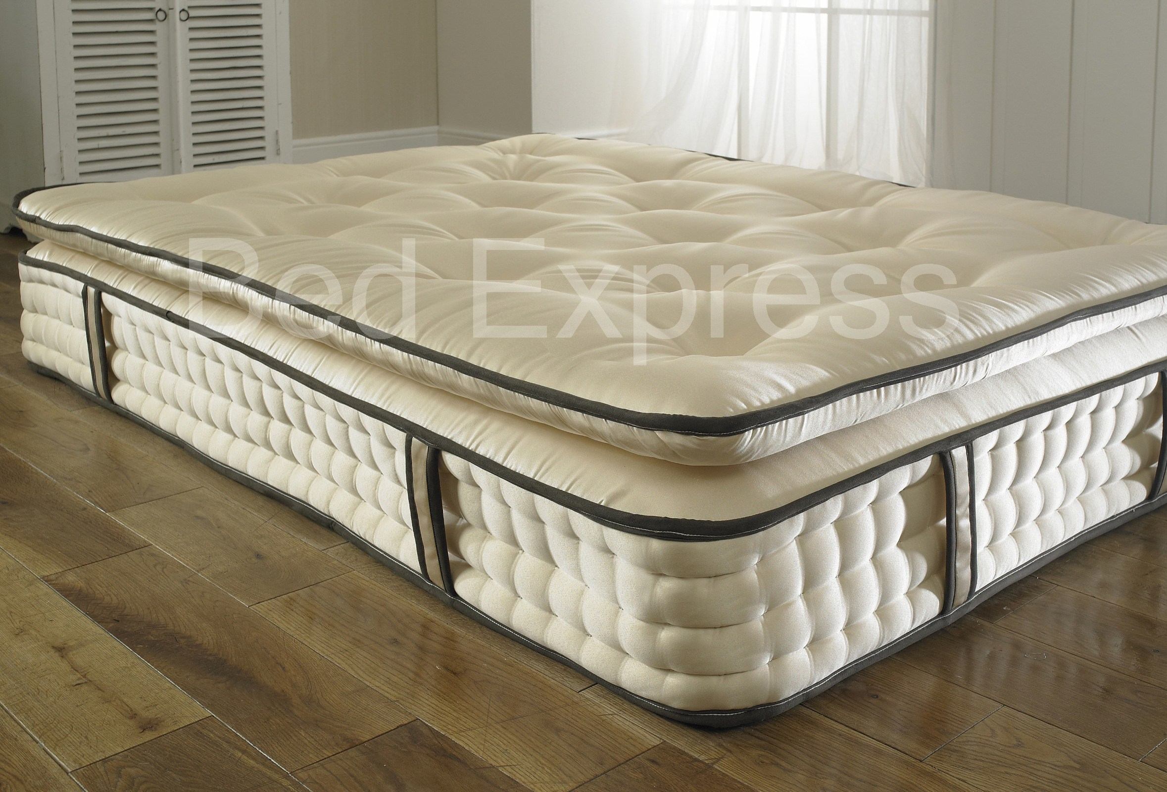 5ft king size 2000 pocket spring orthopaedic organic pillow top mattress ebay Mattress king