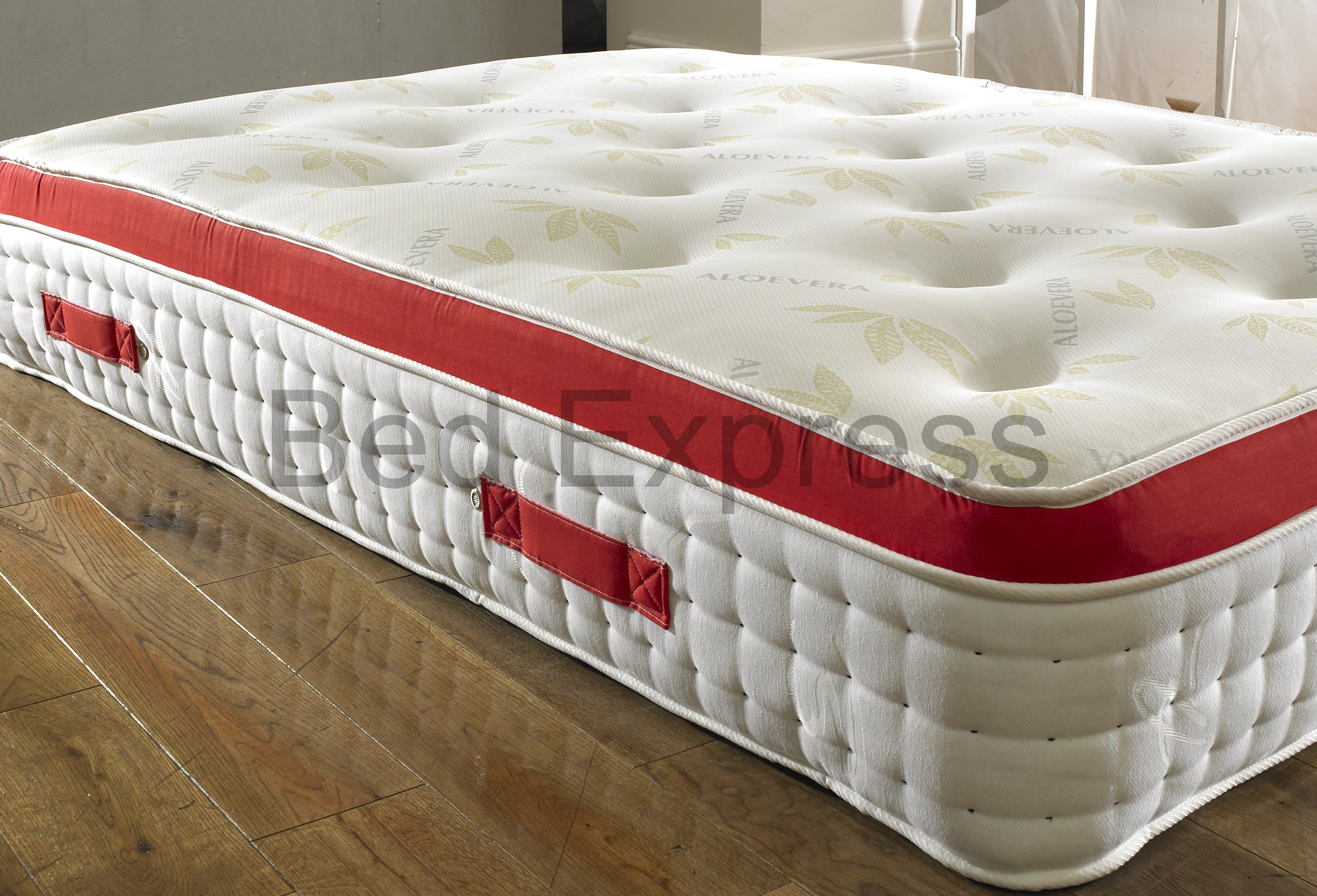 4FT SMALL DOUBLE ORTHOPAEDIC ORGANIC PILLOW TOP MATTRESS