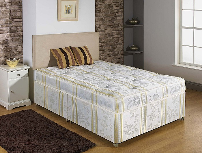NEW SINGLE DOUBLE KING SIZE LUXURY HAND TUFTED DIVAN BED
